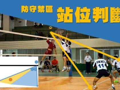 [排球部落] 學會基本防守,站位判斷小訣竅